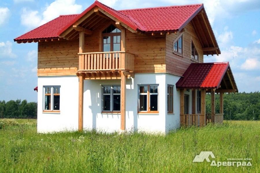 каркасные дома эконом фотография
