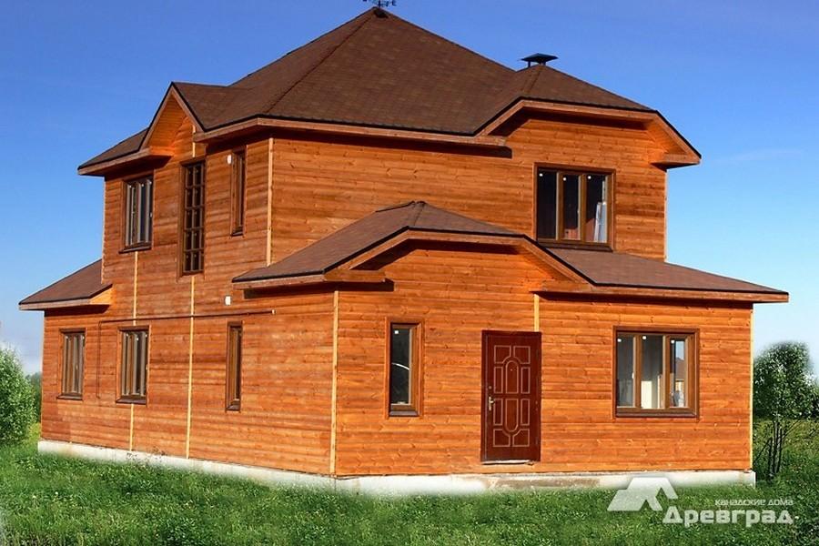 готовые канадские дома фото