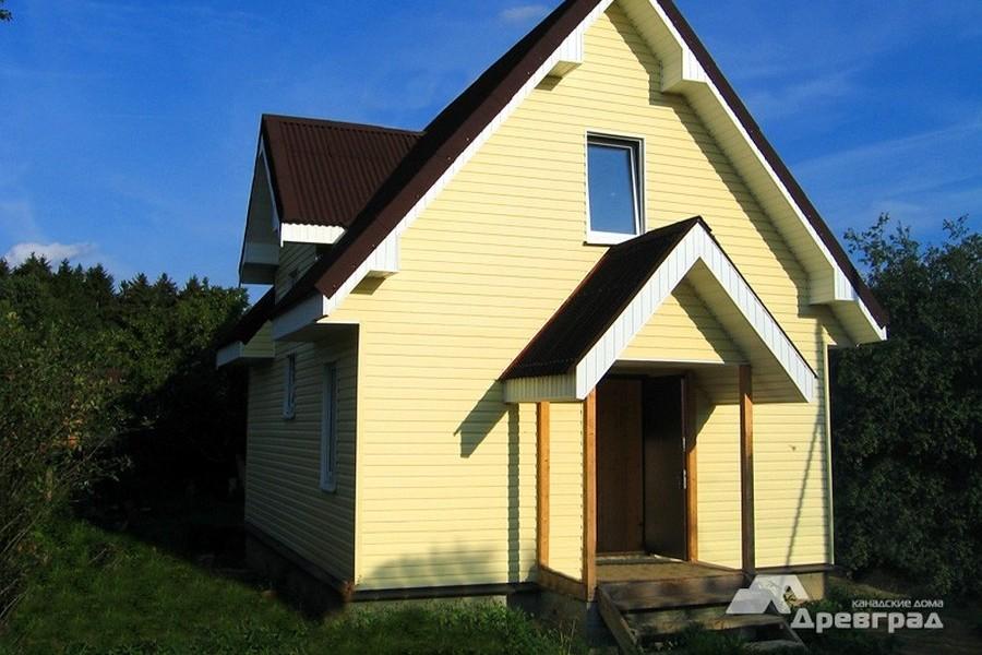 дома по каркасной технологии фото